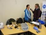 Demobordet och kollegan som blir intervjuad av taltidning